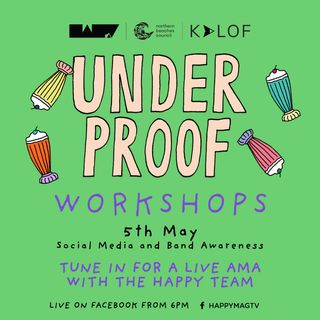 UNDERPROOF: Social Media and Band Awareness