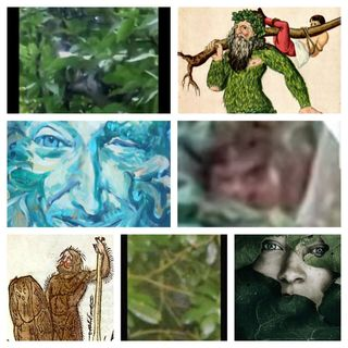 A very Modern Green Man. Ye Olde Wildman of the WoodsHelp us to investigate these cases, in the field or online.  Please click one of these
