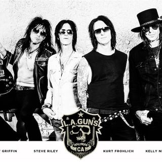 "LA GUNS Rock Out With ""Renegades"""
