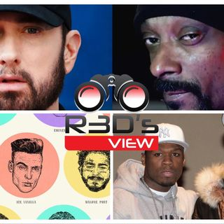 EMINEM DISSES SNOOP DOGG, WORST WHITE RAPPERS, THE GAME VERZUZ 50 CENT, DR. DRE, KANYE WEST