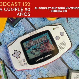Podcast 152 – 20 años de GBA