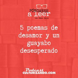 E1 • 5 poemas de desamor y un guayabo desesperado • Literatura •  Culturizando