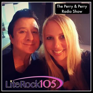 THE PERRY & PERRY SHOW with Lite Rock 105's Heather Gersten Perry and Steve Perry!