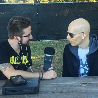 Rockcast at Aftershock - Billy Howerdel of A Perfect Circle