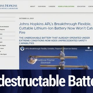 Scientists Made a Nearly Invincible Lithium-Ion Battery | TWiT Bits