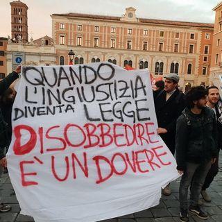 """""""Mattarella non firmi la Legge Sicurezza"""""""