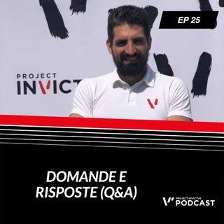 Invictus podcast ep. 25 - Nicolò Liani & Andrea Biasci - Domande e risposte (Q&A) #5