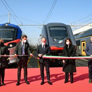 """Ecco """"Pop"""", il nuovo treno della Bassano-Venezia. E' il 20°della flotta regionale"""
