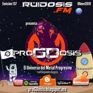 proGDosis 157 - 09nov2019 - Cosmonaut