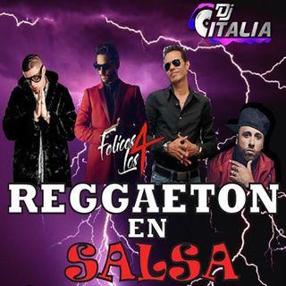 Reggaeton en salsa
