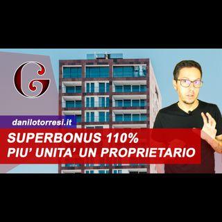 SUPERBONUS 110%: Unico Proprietario in condominio, a chi non spetta secondo l'Agenzia delle Entrate