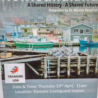 A series of videos and a Q&A about Newfoundland form part of Heritage Week in Waterford