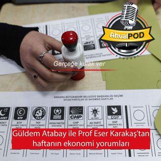 Güldem Atabay: Seçimlerin ardından gelen ilk veri Mart enflasyonu: Enflasyonda düşüş kolay değil
