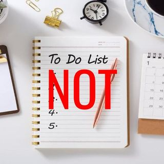 "A ""Not to Do"" List - Morning Manna #3114"
