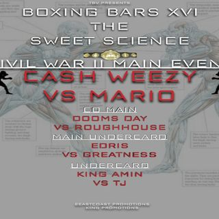 "☎️Thaboxingvoice Rap Battle: 🎤BOXING BARS 16 ""Sweet Science"" 🎧"