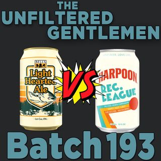 Batch193: Bell's Light Hearted Ale VS Harpoon's Rec. League & Stone's Peak Conditions