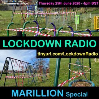 🦠MARILLION special Part 1 - The Lockdown Radio Show 🦠