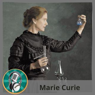 David Villalba con Marie Curie
