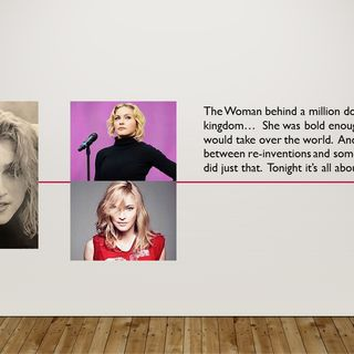 Madonna:  Born to be the Queen of Pop?