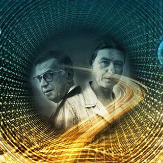 Jean-Paul Sartre och Simone de Beauvoir - existentialismens fixstjärnor