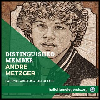 2017 Distinguished Member Andre Metzger, Two-time NCAA Champion