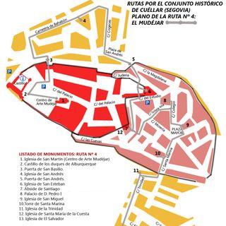 Cuéllar: El Mudéjar cuellarano (ruta 4).