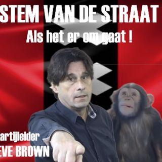 Steve Brown in gesprek met Esther Fenema: Waarom heeft Steve Brown politieke Partij De Stem van de Straat  opgericht.