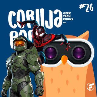 Coruja POP #26 Nova geração de consoles e tudo o que rolou na TecnoFacens!