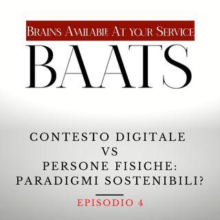 Contesto digitale Vs Persone fisiche: paradigmi sostenibili?