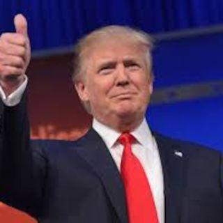 President Trump turns the corner