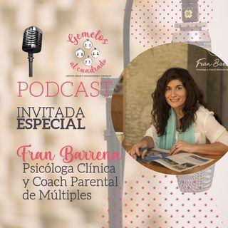 Entrevista a Fran Barrena. Madre de mellizos, psicóloga y coach parental de múltiples.