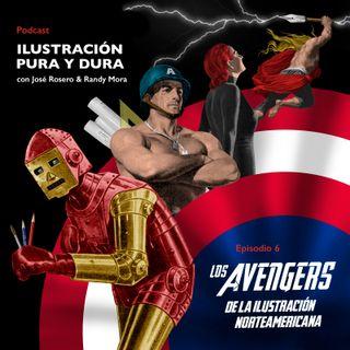 EPISODIO 6: Los Avengers de la ilustración norteamericana