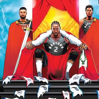 Raptors & Drake Prevail, Bucks Future, Raptors Warriors Preview