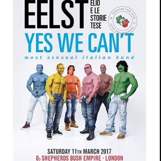 EELST YES WE CAN'T most sensual Italian band - che FIGGATTA pazzesca