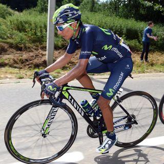 Quintana, tras su caída en la 6ª et