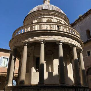XII. El templete de Bramante y las iglesias del Trastevere