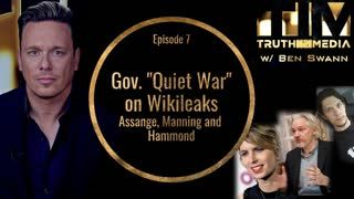 Gov.  Quiet War  on Wikileaks, Assange, Manning and Hammond (Truth In Media w Ben Swann)