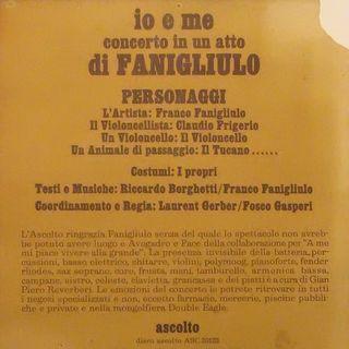 FRANCO FANIGLIULO: Ciak MI 22-4-1979