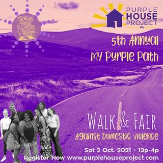 PSA (60sec) 5th Annual My Purple Path Walk and Fair Against Domestic Violence
