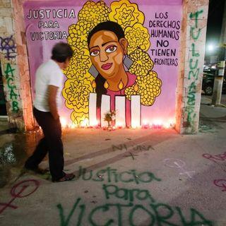"""""""Justicia para Victoria"""""""