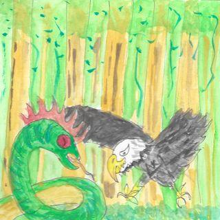 L'Aquila reale ed il Badalischio