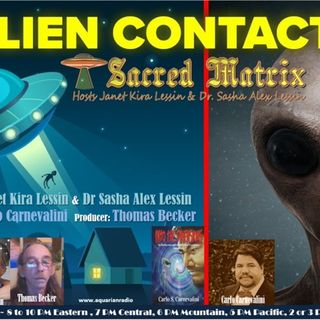 Carlo S Carnevalini~11/03/19~Sacred Matrix~Janet Kira Lessin& Dr. Sasha Lessin
