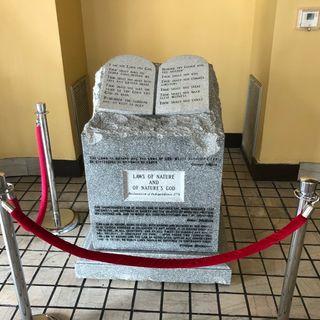 Ten Commandments Monument Return To Montgomery