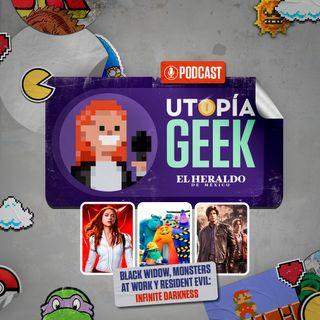 Todo sobre Resident Evil: Infinite Darkness, Black Widow y Monsters at work | Utopia Geek, videojuegos y cómics