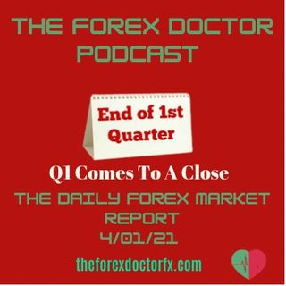 Episode 19 - The Forex Doctor Podcast 4/01/21