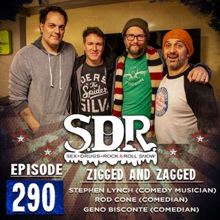 Stephen Lynch & Rod Cone (Comedy Musicians) - Zigged And Zagged