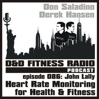 Episode 086 - John Lally:  Heart Rate Monitoring for Health and Fitness