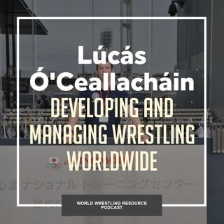 Lúcás Ó'Ceallacháin comes to Canada after spending the last five years entrenched in international wrestling -WWR63