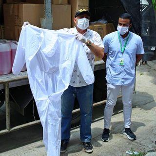 Alcaldía Local 1 de Cartagena entregó insumos sanitarios y de protección al personal médico del HUC