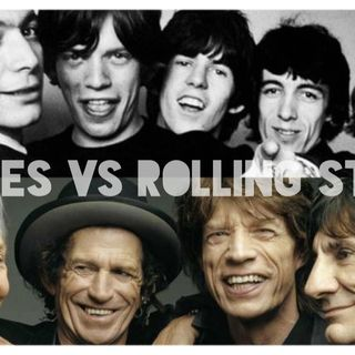 FIGHT MUSIC \\ BEATLES VS ROLLING STONES